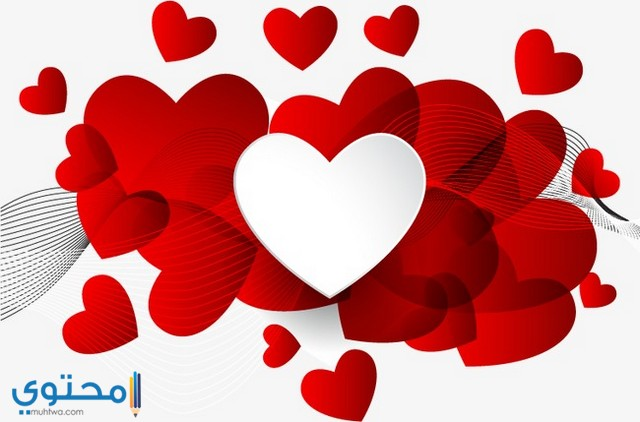 اجمل قلوب رومانسية
