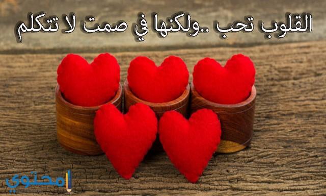 اجمل صور قلوب حب مع عبارات