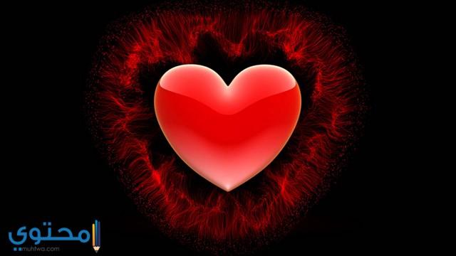 خلفيات قلوب حمرا جميلة