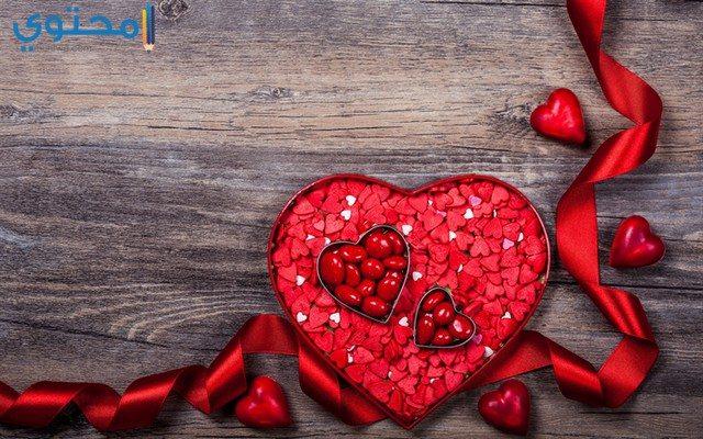 قلوب عيد الحب 2021