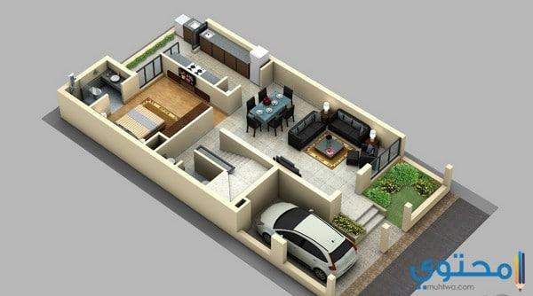 تصاميم فلل صغيرة مساحة 300 from www.muhtwa.com