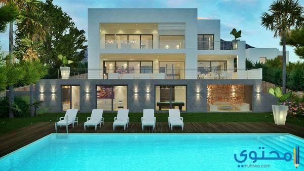2018 for Model de villa moderne