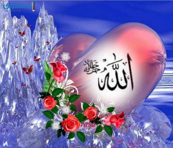 صور لفظ الجلالة جميلة