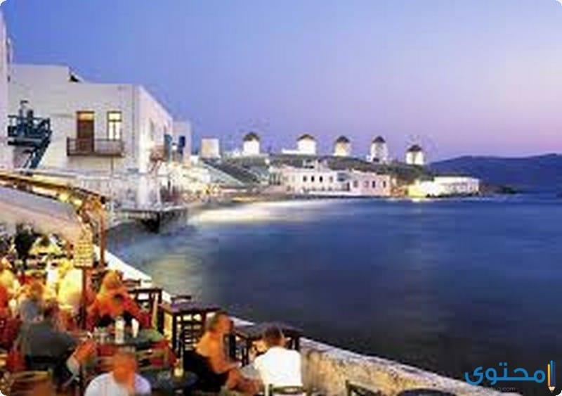 صور جزيرة ميكونوس في اليونان