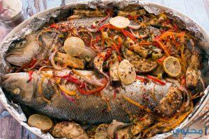 طريقة تحضير صينية السمك والأرز