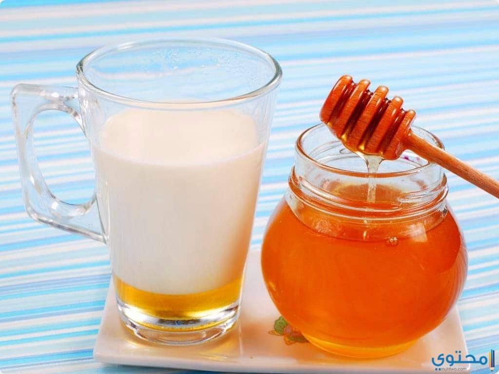 ماسك الحليب والعسل