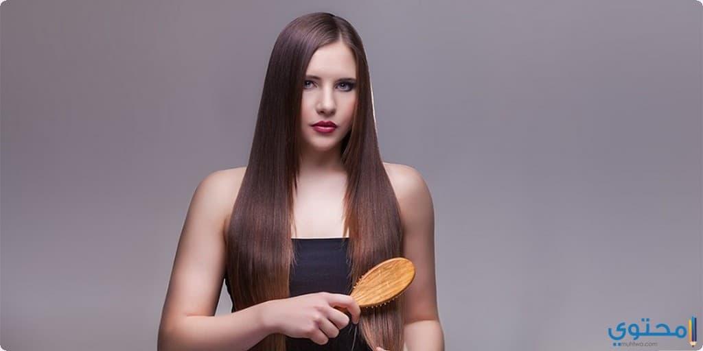 فوائد تقليل تمشيط الشعر