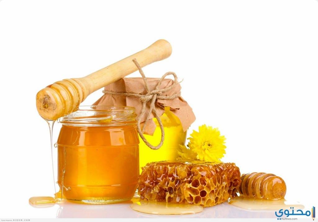 العسل الأبيض لتسمين الوجه