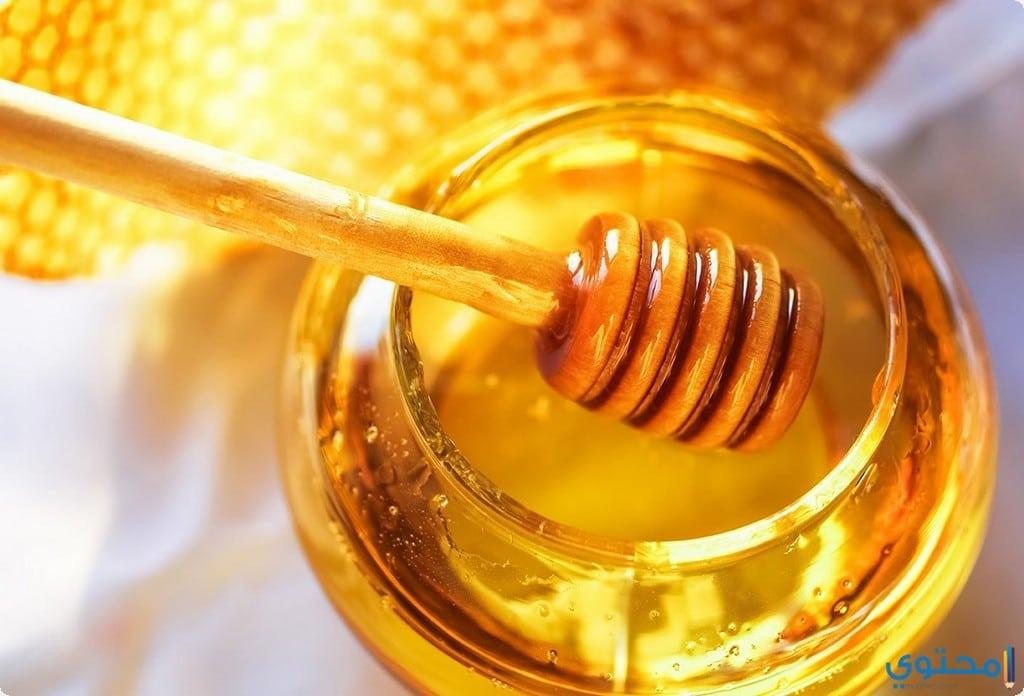 خلطة العسل والسكر والليمون