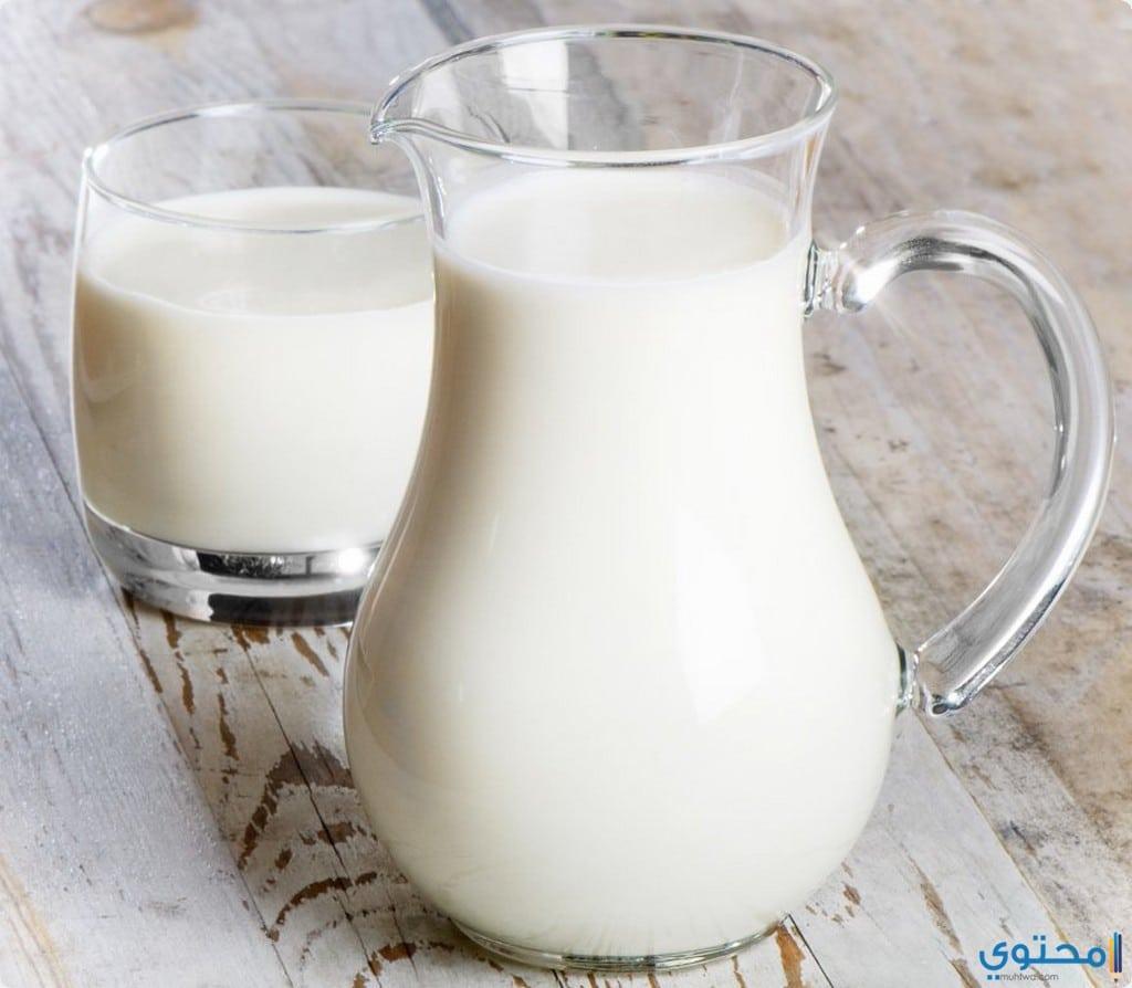 الحليب لتكثيف الحواجب