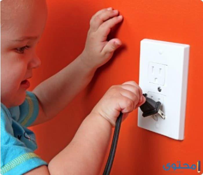 بحث عن طرق وقاية الأطفال من مخاطر الكهرباء