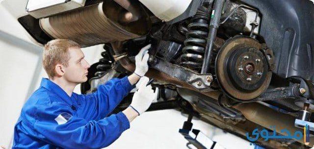 طريقة تعليم ميكانيكا السيارات