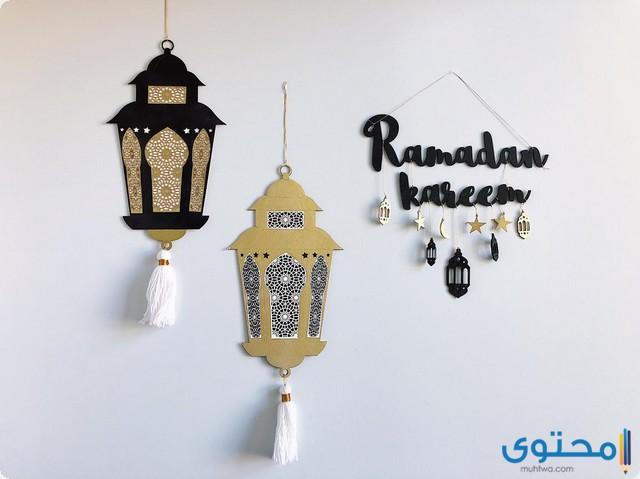 طريقة عمل زينة رمضان في المنزل