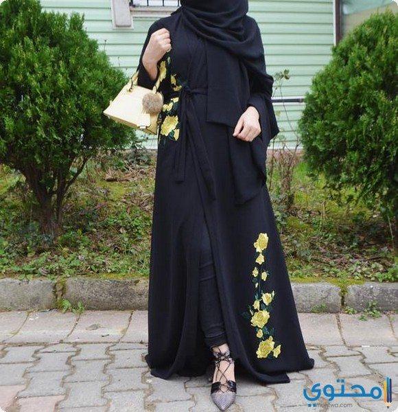 موديلات عبايات سعودية واسعة