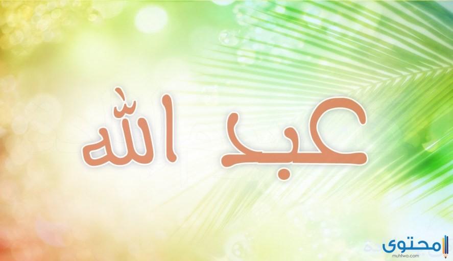 معنى اسم عبدالله