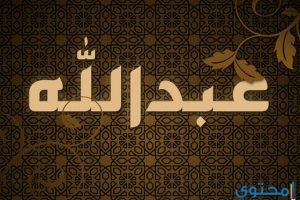 معنى اسم عبد الله