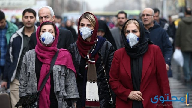 عدد مصابين فيروس كورونا في ايران