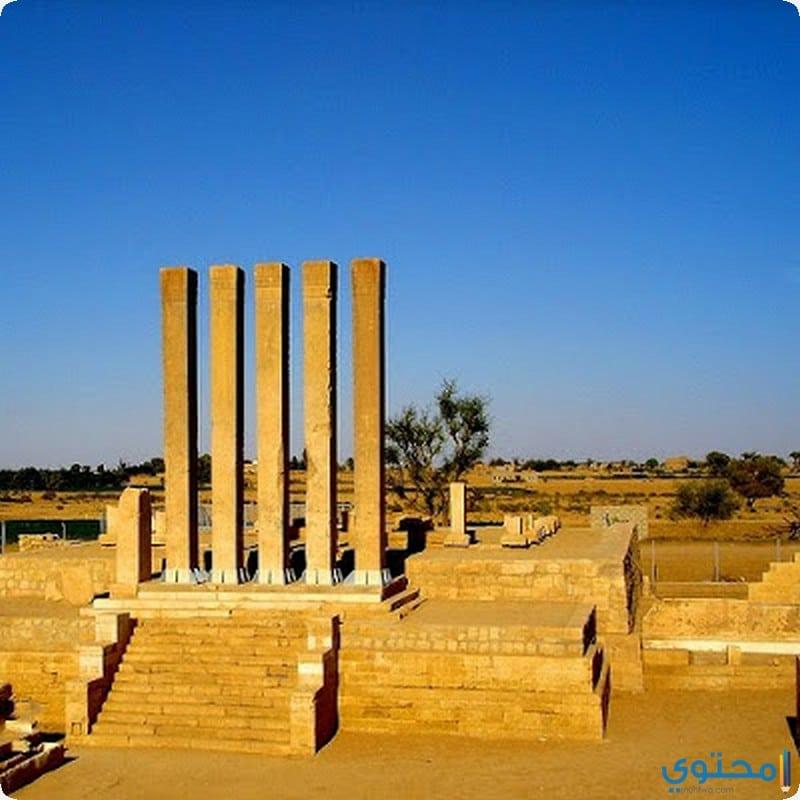 عرش بلقيس أو معبد بران