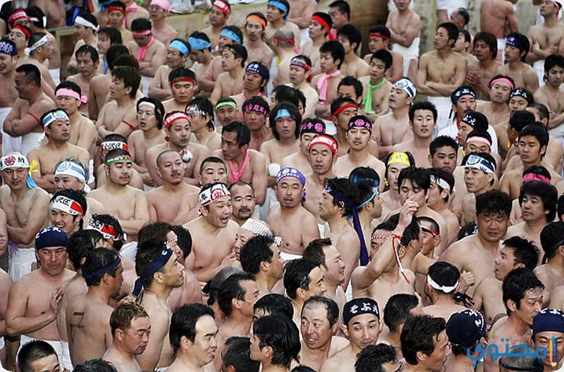 احتفالية نصف العري في اليابان