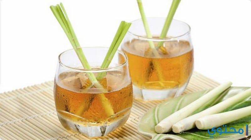 طريقة تحضير شاي عشب الليمون