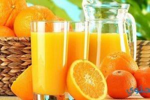 طريقة تحضير عصير برتقال فريش
