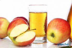طريقة تحضير عصير التفاح الفريش