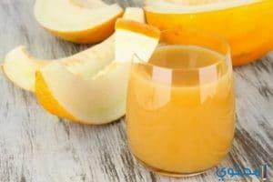 طريقة عمل عصير الشمام بالليمون والموز والبرتقال