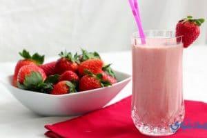 طريقة عمل عصير فراولة فريش طازج