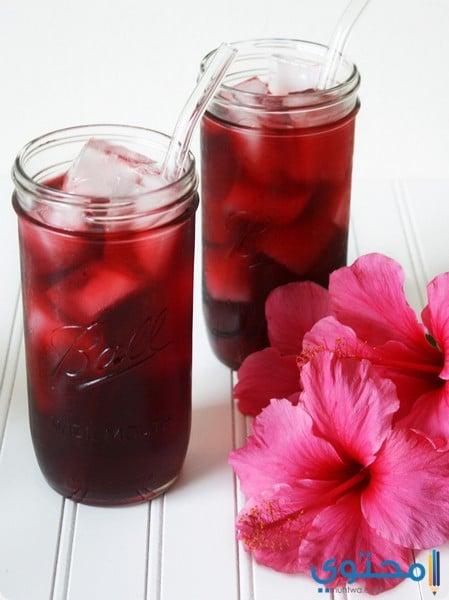 فوائد شرب عصير الكركديه في رمضان 2022 - موقع محتوى