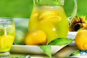 طريقة عمل عصير الليمون بالنعناع المركز