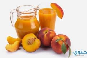 وصفة تحضير عصير الخوخ الطازج