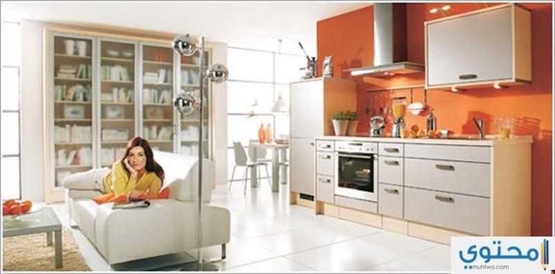 ديكور المطبخ المفتوح