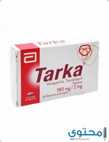 التفاعل العقاري مع دواء تاركا