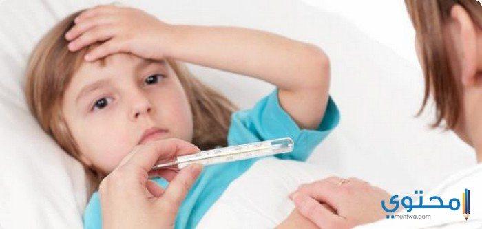 أسباب ارتفاع الحرارة عند الأطفال