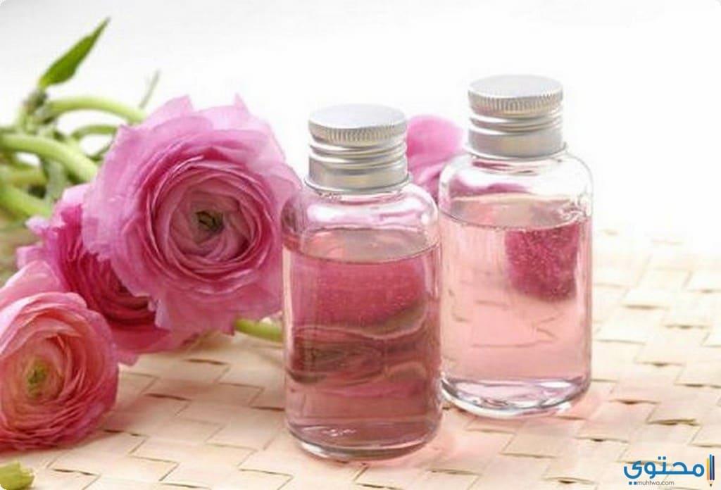 ماء الورد للعناية بالبشرة