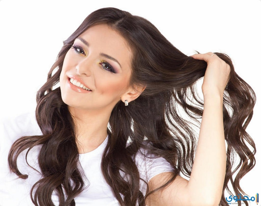 علاج الشعر من القشرة للنساء