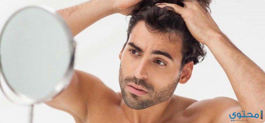 علاج تساقط الشعر عند الرجال2