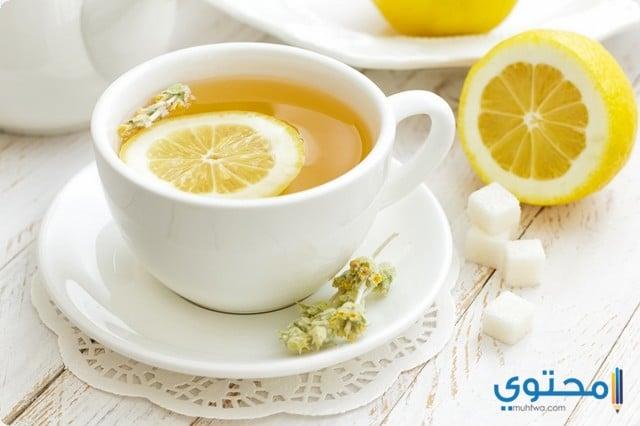 علاج الكحة بشاى الليمون