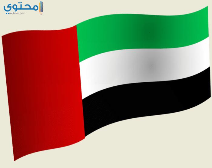 أجمل الصور لعلم الإمارات