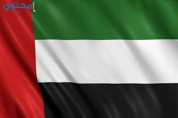 علم الإمارات الجديد