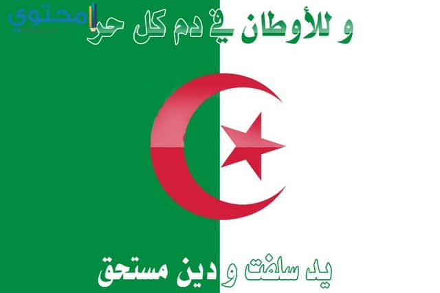 خلفيات علم الجزائر hd