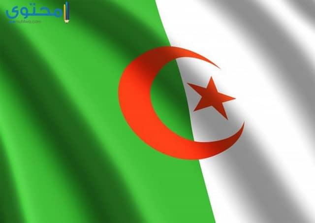 خلفيات علم الجزائر تحفة