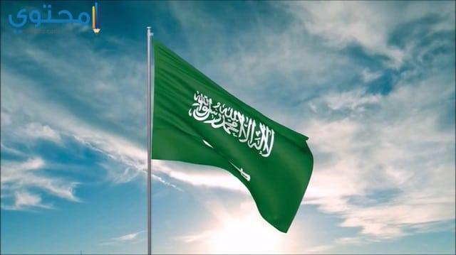 رمزيات علم السعودية أنستقرام