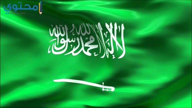 خلفيات علم السعودية جديدة