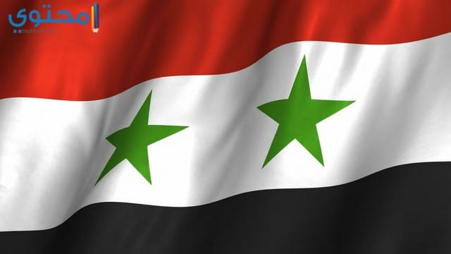 علم سوريا الحالي