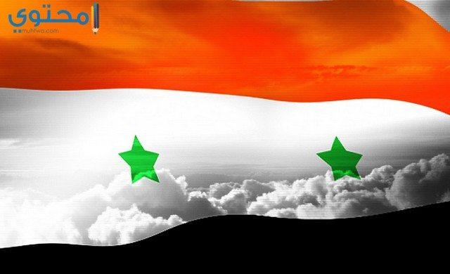 خلفيات علم سوريا hd
