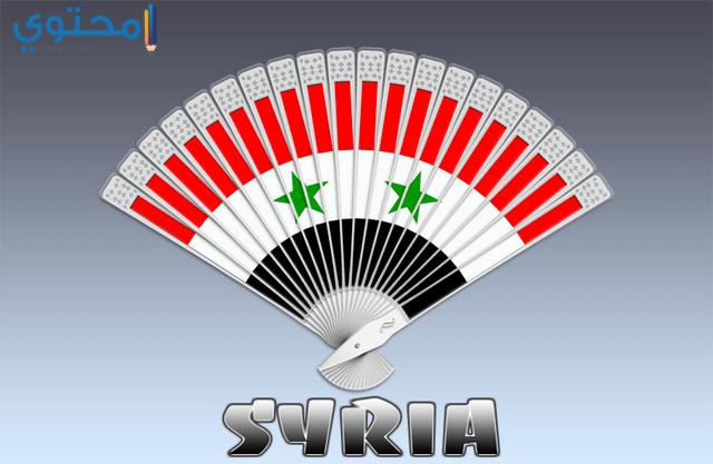 صور علم سوريا جديدة
