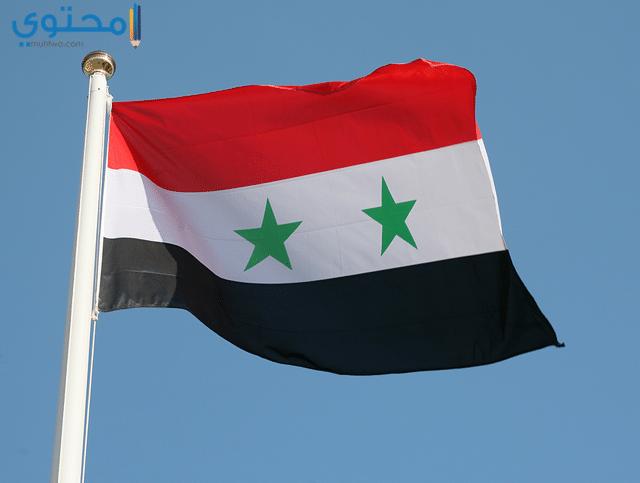 خلفيات موبايل علم سوريا