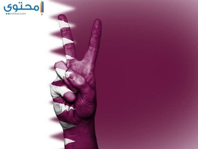 خلفيات علم قطر للأيفون