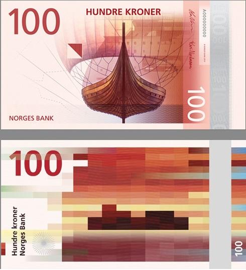 عملة النرويج ذات فئة المائة كرونة